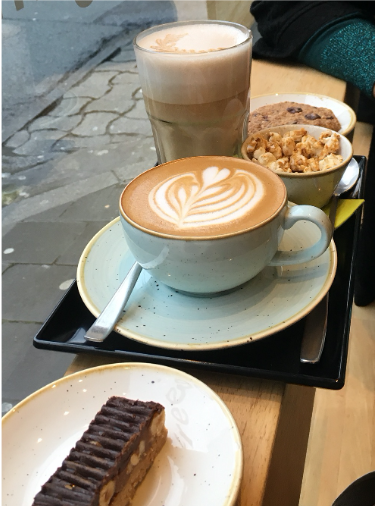 Figure 8: Coffee and cake